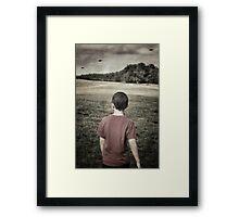 Distant Thunder ii Framed Print