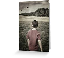 Distant Thunder ii Greeting Card