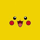 Pikachu Smiley Face by Plietsch