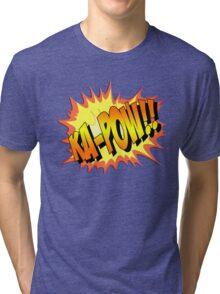 Ka-POW Tri-blend T-Shirt