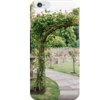 Churchyard in Bibury, The Cotswolds iPhone Case/Skin