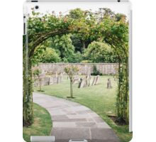 Churchyard in Bibury, The Cotswolds iPad Case/Skin