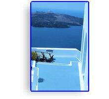Greek Holiday Canvas Print