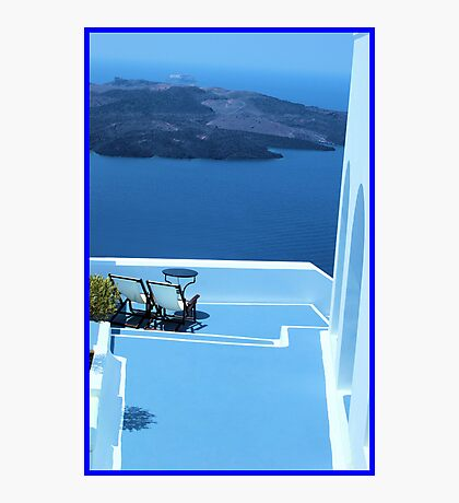 Greek Holiday Photographic Print