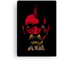 angry boy Canvas Print