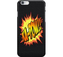 Ka-POW iPhone Case/Skin