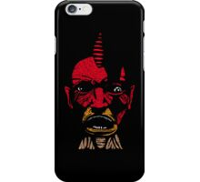 angry boy iPhone Case/Skin