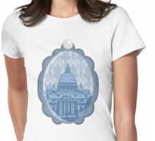 Vatican Cameo Womens Fitted T-Shirt
