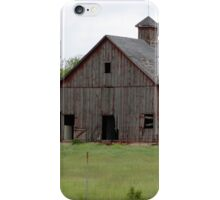 Barn Near Auburn iPhone Case/Skin