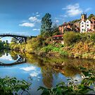 Iron Bridge 1779 by Adrian Evans