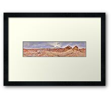 Valley of Fire Panorama (Nevada - USA) Framed Print