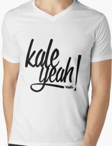 Kale Yeah! Mens V-Neck T-Shirt