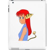 Anime Lombax Girl iPad Case/Skin