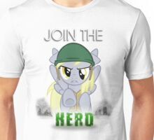Derpy Hooves- Join the Herd Unisex T-Shirt