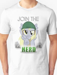Derpy Hooves- Join the Herd T-Shirt