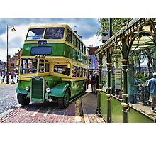 Southdown Bus Photographic Print