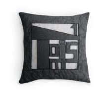 Cover (detail) - Toise n°1 - Artist's Book Throw Pillow