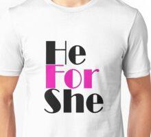 HeForShe Unisex T-Shirt