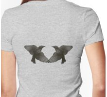 Wings of Love T-Shirt Womens Fitted T-Shirt
