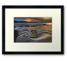 Kaikoura Limestone Drift Framed Print