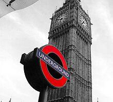 London Underground by bksoriginals