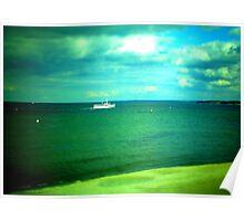 Boat - Sea Poster