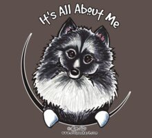 Keeshond :: It's All About Me by offleashart
