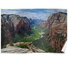 Zion Canyon.2 - Zion National Park, Utah Poster