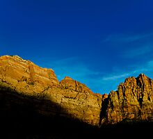 Watchmen's Sunset - Zion National Park, Utah by Jason Heritage