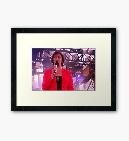 Amanda Heart Framed Print