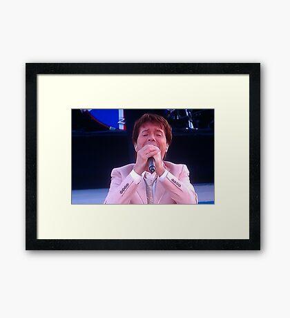 Sir Cliff Richard Framed Print