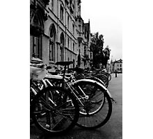 Broad Street, Oxford - Bicycles Photographic Print