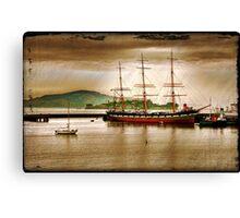 Ship San Francisco Canvas Print