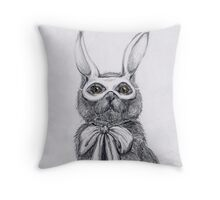 Kitty in disguise Throw Pillow