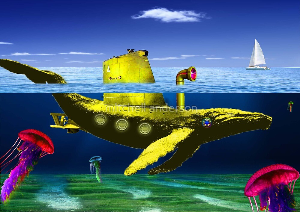 Yellow submarine by mitchell anderson