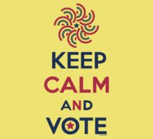 Keep Calm and Vote  Kids Clothes