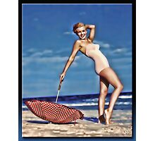 The Marilyn Pin-up Photographic Print