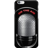 On The Air Retro Michrophone iPod /  iPhone 5 Case / iPhone 4 Case  / Samsung Galaxy Cases  iPhone Case/Skin