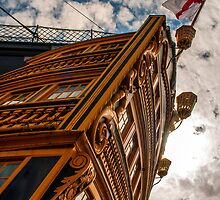 HMS VICTORY AT PORTSMOUTH by Karl Willson
