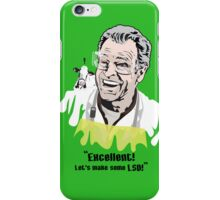 "Walter Bishop - ""Excellent! Let's make some LSD!"" Green iPhone Case iPhone Case/Skin"