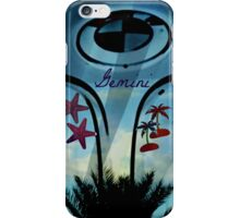GEMINI THE TWINS iPhone Case/Skin