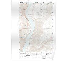 USGS Topo Map Washington State WA Entiat 20110604 TM Poster