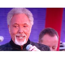 Sir Tom Jones  Photographic Print