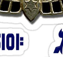 Shaldag Unit (Unit 5101) Logo Sticker