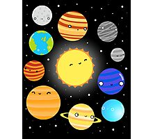 The Solar System Photographic Print