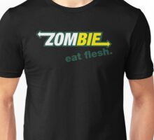 Subway Zombie - Eat Flesh Unisex T-Shirt