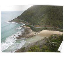 Great Ocean Road Teddy's Lookout Poster