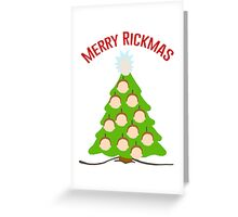 Merry Rickmas Greeting Card