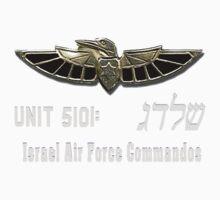 Shaldag Unit (Unit 5101) Logo For Dark Colors One Piece - Short Sleeve