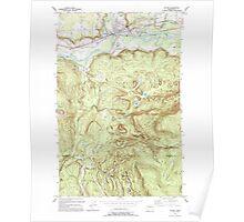 USGS Topo Map Washington State WA Sultan 244105 1993 24000 Poster